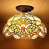 Tiffany LED Ceiling lamps room bedroom balcony window aisle lights lighting personality single Ceiling Lights DF96 lo11