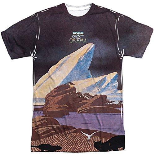 Drama Front Print Adult T Shirt