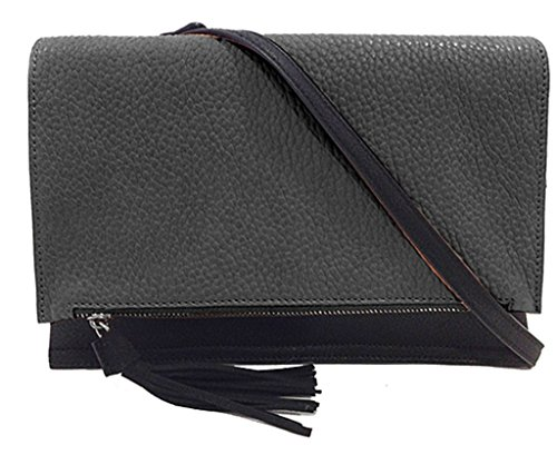 urban-originals-womens-sheer-luxe-clutch-cross-body-black-graphite