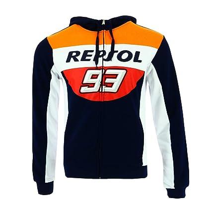 HONDA Repsol Marc Marquez 93 Moto GP Panel Azul Capucha Oficial 2018