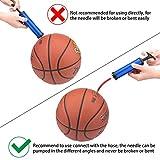 Awpeye 3 Set Ball Pump, Portable Hand Air Ball Pump