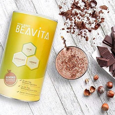 BEAVITA Vitalkost sabor chocolate - 6x 500g 54 porciones - 211 kcal en cada porción - Suplemento con proteína, vitaminas y minerales - Fórmula completa para adelgazar y perder peso: Amazon.es: Salud y cuidado personal