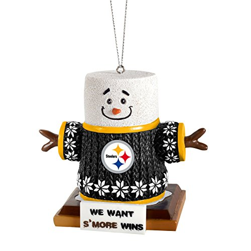 NFL Smores Ornament (Pittsburgh Steelers)