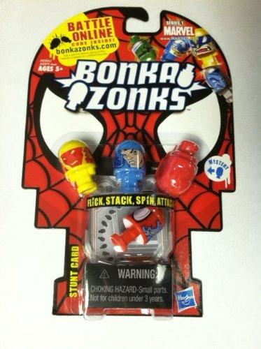 Hasbro Bonkazonks Marvel Series 1 4-pack Spider-man