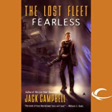 The Lost Fleet: Fearless Audiobook by Jack Campbell Narrated by Christian Rummel, Jack Campbell