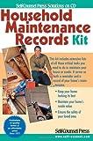 Household Maintenance Records Kit