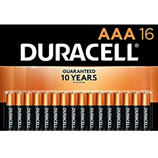 Duracell - CopperTop AAA Alkaline Batteries - Long Lasting, All-Purpose Double A Battery For Household And Business - 16 Count