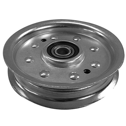 52' Mower Decks (LASER Flat Idler Pulley with Flanges & Heavy Duty Bearings)