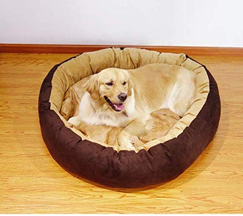 L  L=40in H=9 in Gaobey Self-Warming Cat and Dog Bed Cushion for Medium Large Dogs (L  L=40in H=9 in)