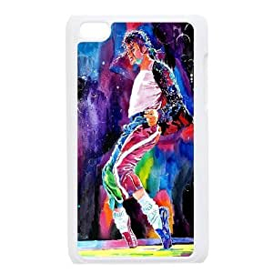 Singer Michael Jackson-king of pop- protective case cover FOR IPod Touch 4th QV479685855