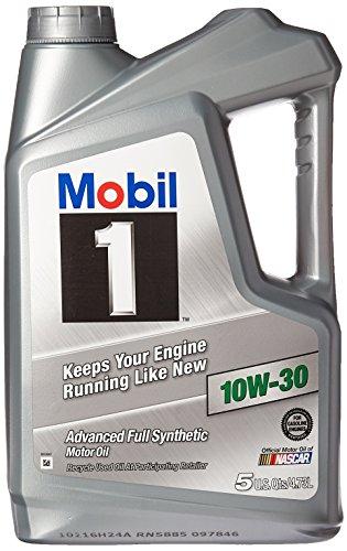 Mobil 1  10W-30 Synthetic Motor Oil - 5 Quart