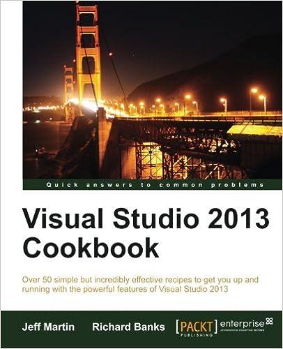 Visual Studio 2013 Book