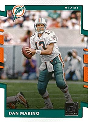 2017 Donruss #144 Dan Marino Miami Dolphins Football Card