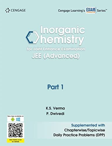 Inorganic Chemistry for Joint Entrance Examination JEE (Advanced): Part 1