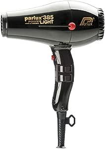 Parlux 385 Powerlight Ceramic & Ionic Dryer 2150W, Black