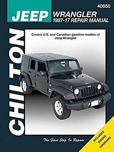 1997 2008 Jeep Wrangler Auto - Chilton Repair Manual for Jeep Wrangler (1987-2017)