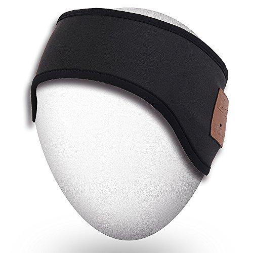 Rotibox Bluetooth Headband Sweatband Sleepphone Speakerphone Headphone Headset Earpiece with Wireless Speaker Mic Hands-free for Music Gifts Outdoor Sports Running Walking Jogging Hiking Skiing- Black (Code Review Process Best Practices)
