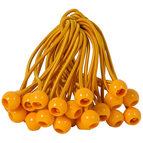 Predator Lacrosse Quick Goal Bungees Fasteners 24-Orange by Predator