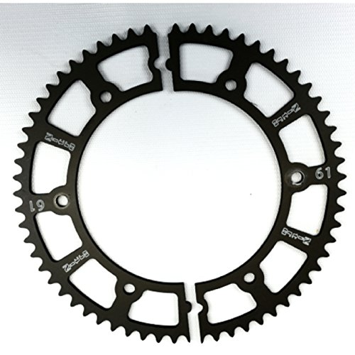 Nitro Manufacturing 61 Tooth Hard-Anodize Go Kart Racing Split Gear Sprockets