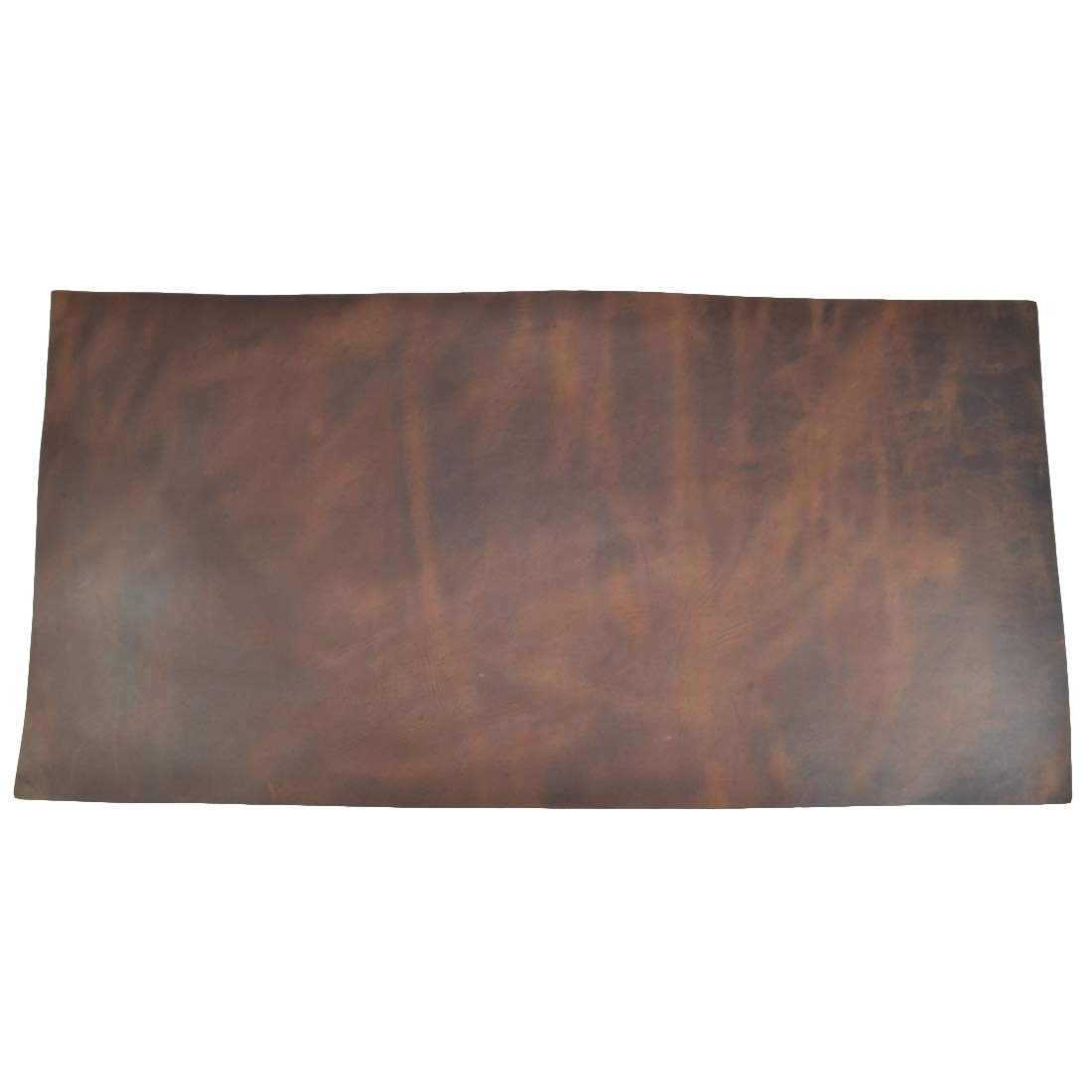 Leather Square (12''x24'') for Crafts/Tooling/Hobby Workshop, Medium Weight (1.8mm) by Hide & Drink :: Bourbon Brown
