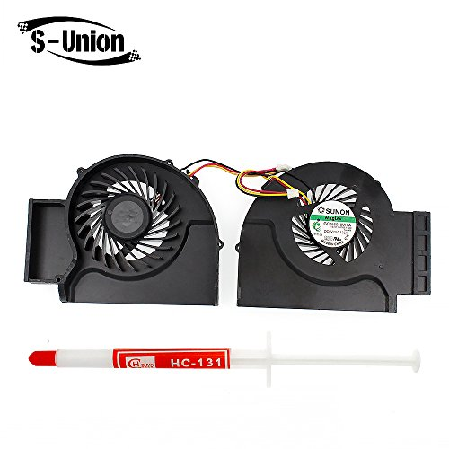 Generic New Notebook CPU Cooling Fan for IBM LENOVO T510 W510 Series DC5V 0.195A Replacement Part Number GC055010VH-A Thermal Paste