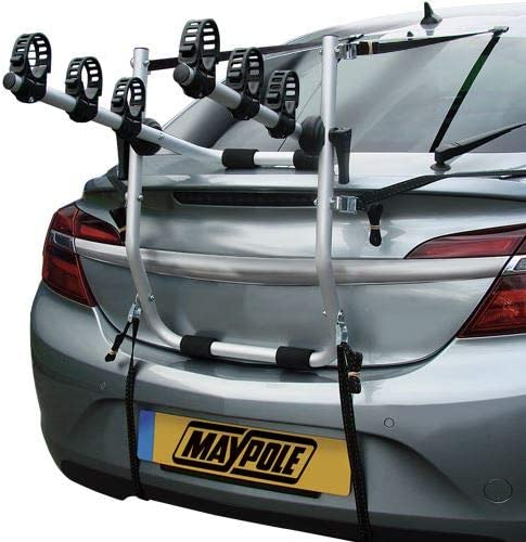 UKB4C Car 3 Bike Carrier Rear Tailgate Boot Cycle Rack fits Jazz 2002-2017
