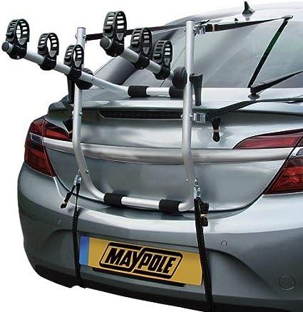 UKB4C Car 3 Bike Carrier Rear Tailgate Boot Cycle Rack fits Zafira