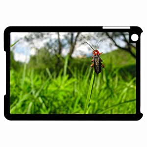 Customized Back Cover Case For iPad Mini Hardshell Case, Black Back Cover Design Insect Personalized Unique Case For iPad Mini