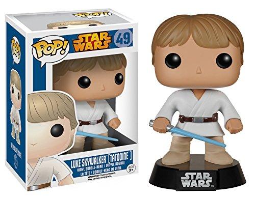 Funko POP: Star Wars Luke Skywalker Tatooine Bobble Head Vin