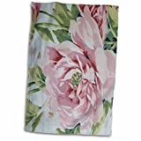 3D Rose Shabby Chic Pink Country Rose twl_47872_1 Towel, 15'' x 22''