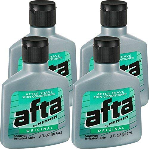 - Afta After Shave Skin Conditioner Original 3 oz ( Pack of 4)
