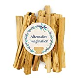 Alternative Imagination Premium Palo Santo Holy Wood Incense Sticks 2 Oz Pack for Purifying, Cleansing, Healing, Meditating, Stress Relief. 100% Natural and Sustainable, Wild Harvested.