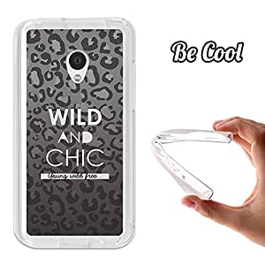 BeCool® - Funda Gel Flexible Meizu MX2 BeCool Wild and Chic Carcasa Case Silicona TPU Suave