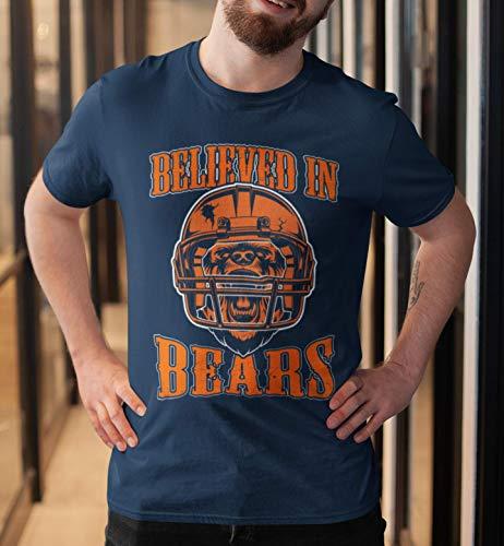 Bear-Believed-In Shirt Monster Chicago Football Helmet Jersey Big Gift Fan Customized Handmade T-Shirt Hoodie/Long Sleeve/Tank Top/Sweatshirt