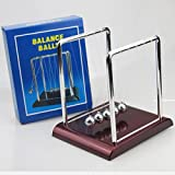 TOLOVI Newton Teaching Science Desk toys Cradle Steel Balance Ball Physic School Educational Supplies home decoration accessories