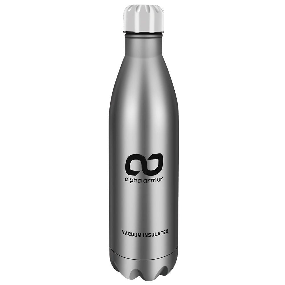 Alpha Armur Doppelwandiger vakuumisolierter Edelstahl Wasser Flasche mit breit/schmal Mund