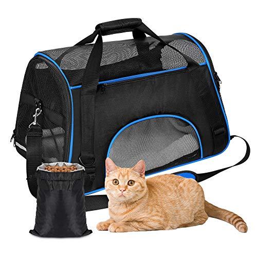 YOUTHINK Transporttasche für Haustiere Faltbar Hundedecke wasserdichte Airline-zugelassene Tragbare Outdoo Reisetaschen…