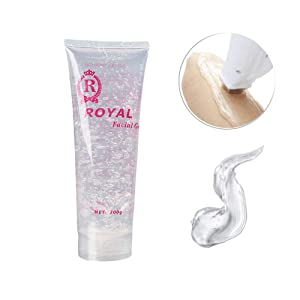 300g Facial Whitening Gel Cream Cooling Gel Cream for Beauty RF Device Body Hair Removal Device - Conductive Gel Cream for Acupuncture Pen Meridians Laser Therapy Massage Device