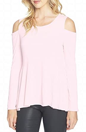 caa0a921ff789 Image Unavailable. Image not available for. Color  CeCe Cold Shoulder Swing  Top ...