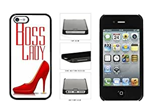 DaojieTM Generic Boss Lady with Red Heels Plastic Phone Case Back Cover Apple Iphone 4/4s