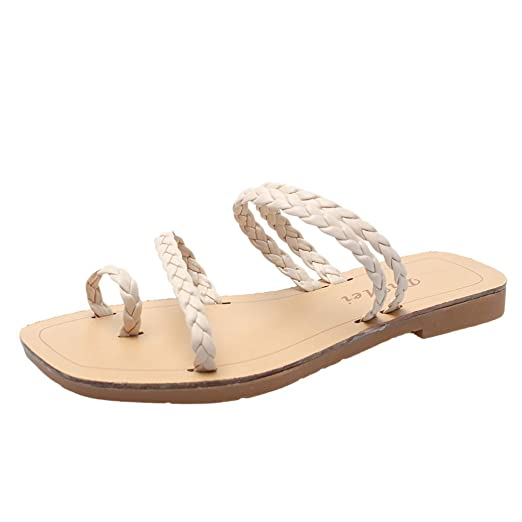 f8e52b0284fd2 Amazon.com: {Minikoad} Women Roman Shoes,Ladies Clip-Toe Sandals ...