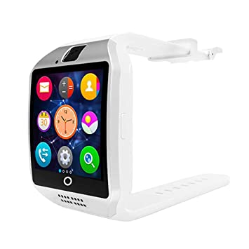 Amazon.com: Perfuw Smart Watch with Camera Touchscreen, Q18 ...