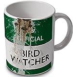 Bird Watcher - Official (with bird poop) - funny mug cup.