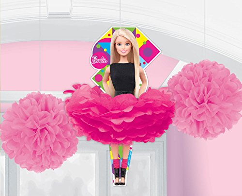 Fluffy Decorations | Barbie Sparkle Collection | Party Accessory -