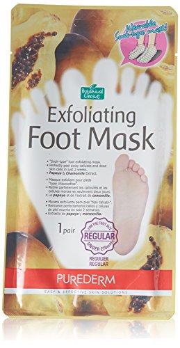 Peeling Fuß Maske PAPAYA- & Kamillen-Extrakt - 1 Paar