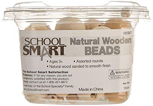 unfinished wood beads - 8