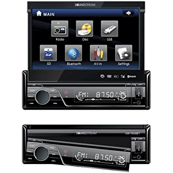 516r51yfc1L._SL500_AC_SS350_ amazon com soundstream vir7830 7 inch flip up touch screen car soundstream vir-7870nrb wire harness at alyssarenee.co