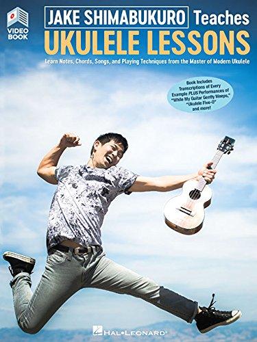Jake Shimabukuro Teaches Ukulele Lessons: Book with Full-Length Online Video [Jake Shimabukuro] (Tapa Blanda)