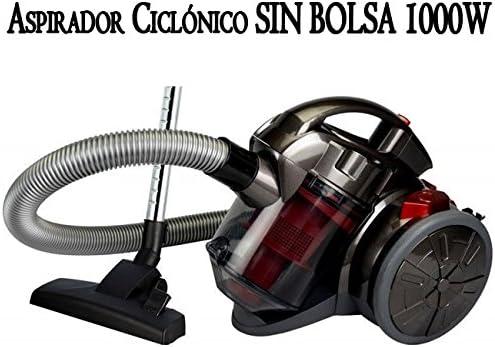 Suinga. Aspirador Multi CICLONICO SIN Bolsa 1000W 1,5 litros Rojo ...
