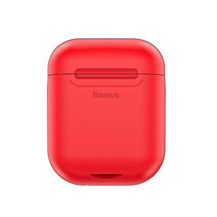 Amazon.com: Airpods Funda de carga inalámbrica, receptor de ...
